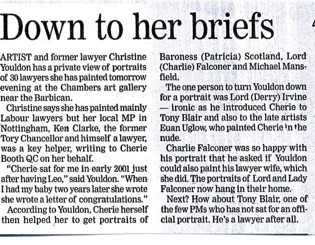 Evening Standard Jan 2008