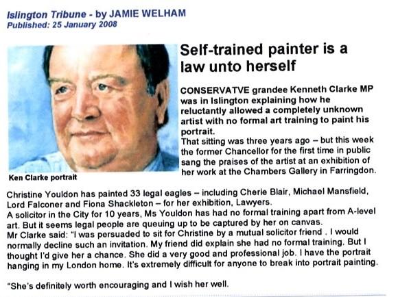 Islington Tribune  Jan 2008